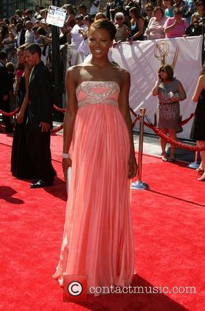 Eva Marcille  35th Annual Daytime Emmy Awards at the Kodak Theatre - arrivals Los Angeles, California - 20.06.08