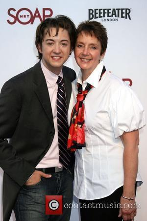Bradford Anderson and mother