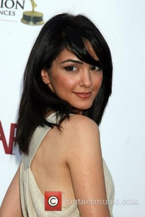 Nazanin Boniadi arriving at the SoapNet Night Before Party for the nominees of the 2008 Daytime Emmy Awards at Crimson...