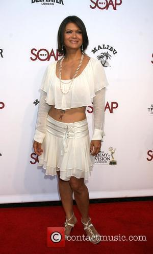 Nia Peeples arriving at the SoapNet Night Before Party for the nominees of the 2008 Daytime Emmy Awards at Crimson...