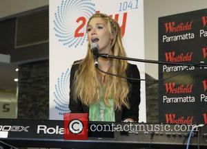 Delta Goodrem  performs live and signs copies of her triple platinum album 'Delta' and her new single 'I Can't...