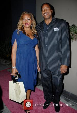 Dave Winfield and wife Tonya Winfield arrive for Desiree Coleman Jackson's surprise Birthday party, held at Club Republic in Los...