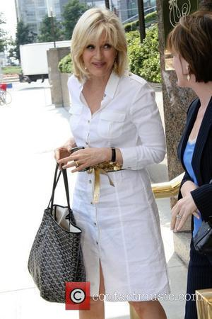 ABC news anchor Diane Sawyer goes to Jean Georges Restaurant for lunch New York City, USA - 06.08.08