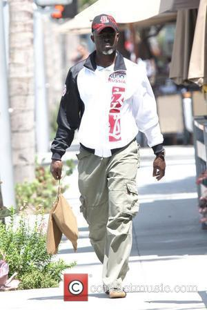 Djimon Hounsou 'Blood Diamond' star out and about in Beverly Hills Los Angeles, California - 31.05.08