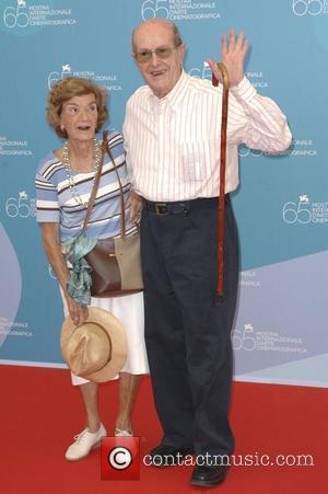 Manoel De Oliveira and His Wife