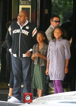Forest Whitaker and His Daughters