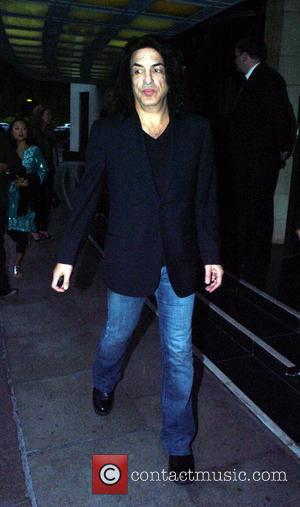 Paul Stanley of the rock band Kiss leaving the Dorchester after eating dinner inside London, England - 14.06.08