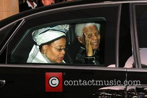 Nelson Mandela at the Dorchester Hotel London, England - 25.06.08