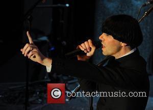 Tim Burgess performing at the 'Smirnoff Experience Paris' at La Cigale Paris, France - 02.07.08