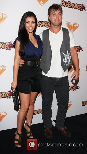 Kim Kardashian and Lance Bass