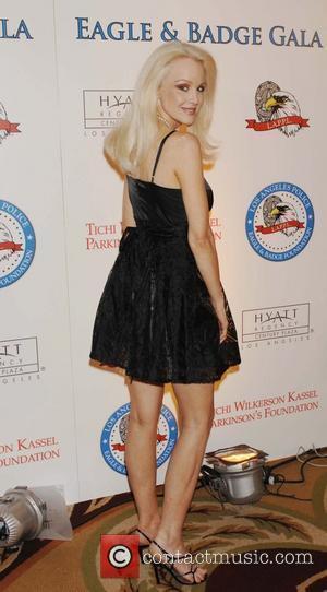 Donna Spangler 2008 Eagle & Badge Gala held at The Hyatt Regency Century Plaza Hotel - Arrivals Los Angeles, California...