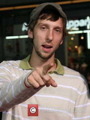 Joel David Moore Los Angeles Premiere of 'Eagle Eye' - held at Grauman's Chinese Theatre - Arrivals Hollywood, California -...