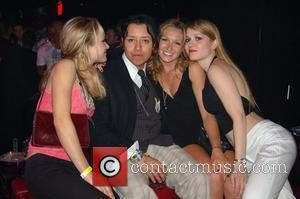 Efren Ramirez  partying with girls at club LAX at the Luxor Hotel and Casino Las Vegas, Nevada - 18.06.08