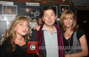 Helen Lederer, Graham Seed and Sharon Maughan at the play An Eligible Man at the New End Theatre London, England...