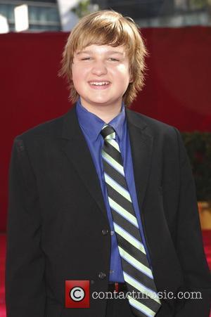 Angus T. Jones 60th Annual Primetime Emmy Awards held at Nokia Theatre _ Arrivals Los Angeles, California - 21.09.08