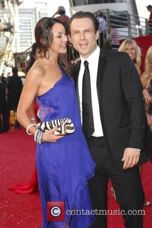 Tamara Mellon and Christian Slater 60th Annual Primetime Emmy Awards held at Nokia Theatre _ Arrivals Los Angeles, California -...
