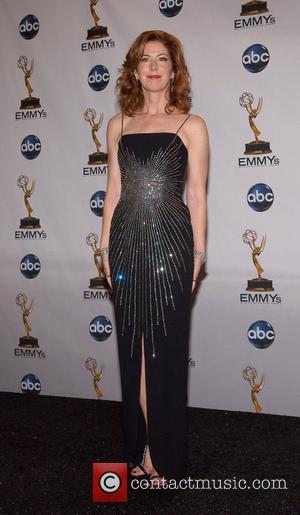 Dana Delany 60th Annual Primetime Emmy Awards held at Nokia Theatre - press room Los Angeles, California - 21.09.08