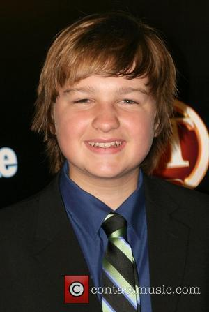 Angus T. Jones Entertainment Tonight Emmy after party at The Walt Disney Concert Hall Los Angeles, California - 21.09.08