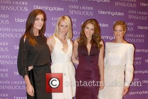Hilary Rhoda, Elizabeth Hurley and Gwyneth Paltrow