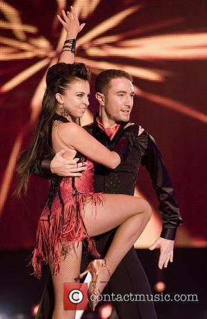 UK's Louisa Lytton and Vincent Simone Eurovision Dance Contest at the SECC Glasgow, Scotland - 06.09.08