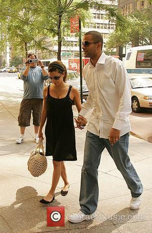 Eva Longoria, Newlyweds, Tony Parker and Manhattan Hotel