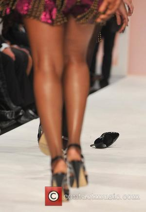 Sugababes London Fashion Week - Spring/Summer 2009 - Fashion for Relief event held at BFC Tent, Natural History Museum London,...
