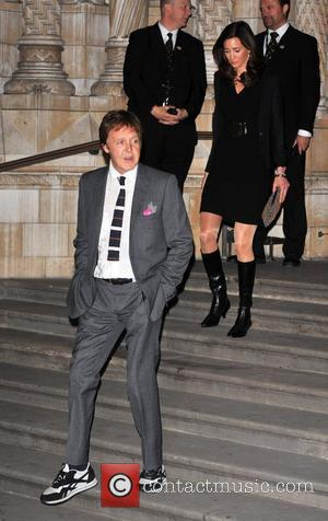 Sir Paul McCartney and Nancy Shevelle