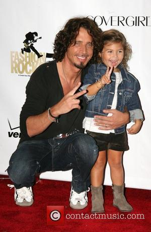 Chris Cornell and daughter  Conde Nast Media Group's 5th Anniversary of Fashion Rocks at Radio City Music Hall -...
