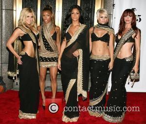 Pussycat Dolls Conde Nast Media Group's 5th Anniversary of Fashion Rocks at Radio City Music Hall - Arrivals New York...