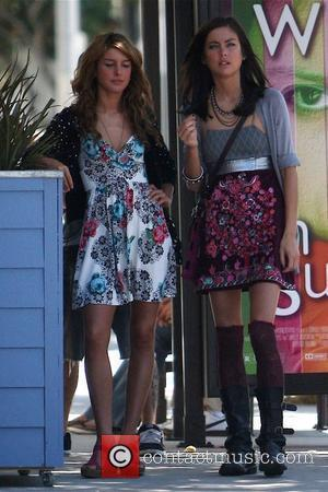 Shenae Grimes and Beverly Hills 90210