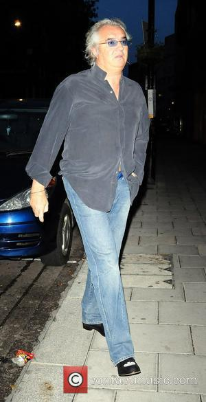 Flavio Briatore arrives at Cipriani restaurant on his own London, England - 28.05.08