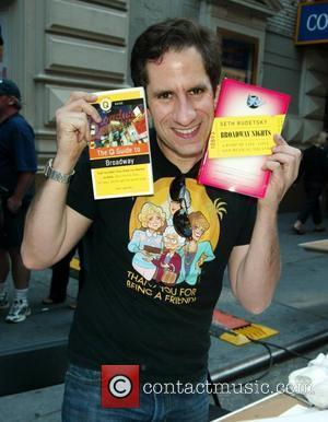 Seth Rudetsky The 22nd Annual Broadway Cares Broadway Flea Market in Shubert Alley New York City, USA - 21.09.08