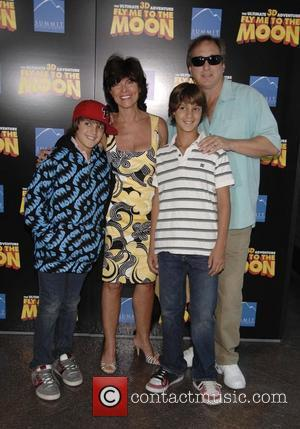 Adrienne Barbeau and family The Los Angeles premiere of 'Fly me to the Moon' at the Direcotrs Guild of America...