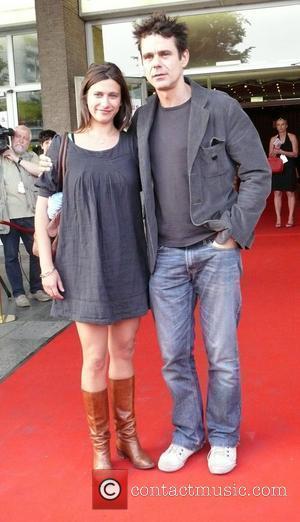 Tom Tykwer and girlfriend Marie Steinmann
