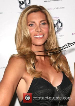 Candis Cayne at the 'Celebration of Love and Pride' event in West Hollywood to mark the start of national gay...