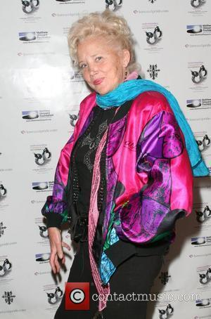 Sally Kirkland at the 'Celebration of Love and Pride' event in West Hollywood to mark the start of national gay...