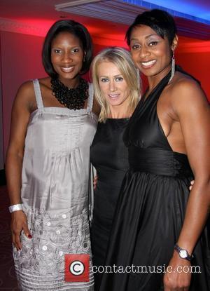 Denise Lewis and Karen Millen
