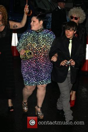 Beth Ditto, Berkeley Square Gardens and Glamour Women Of The Year Awards