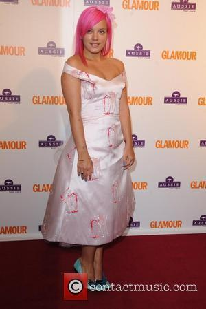 Lily Allen, Berkeley Square Gardens and Glamour Women Of The Year Awards