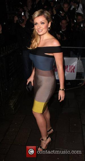 Katherine Jenkins, Berkeley Square Gardens and Glamour Women Of The Year Awards