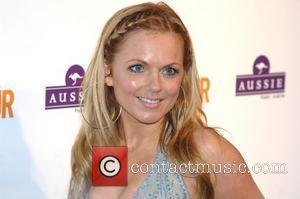 Geri Halliwell, Berkeley Square Gardens and Glamour Women Of The Year Awards