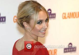 Hayden Panettiere, Berkeley Square Gardens and Glamour Women Of The Year Awards