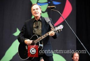 Neil Diamond The Glastonbury Festival - Day 3 Glastonbury, England - 29.06.08