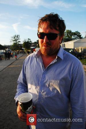 Guy Harvey of Elbow Glastonbury Festival 2008- Day Three Worthy Farm, Pilton Somerset, England - 29.06.08