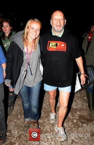 Michael Eavis and daughter Emily Eavis on their way to watch Amy Winehouse perform on Day 2 of the Glastonbury...