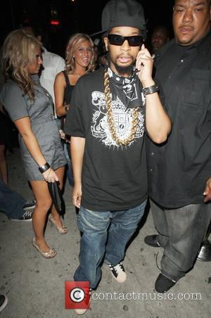 Lil John leaving Goa nightclub  Los Angeles, California - 10.07.08
