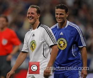 Michael Schumacher and Khalid Boulahrouz