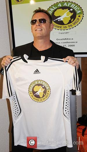 Ali Campbell A press conference announcing the global kick off of the 'Goal 4 Africa' event is held at the...