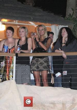 Paris Hilton and Good Charlotte