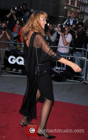 Jerry Hall GQ Men of the Year Awards held at the Royal Opera House - Arrivals London, England - 02.09.08